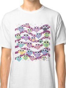 colorful owls Classic T-Shirt