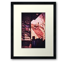 Corner of Framed Print