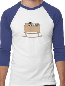 Cats in the cradle Men's Baseball ¾ T-Shirt