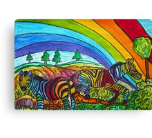 Rainbow Chasers Canvas Print