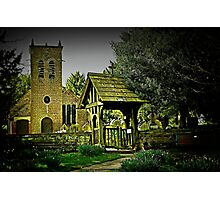 St Werburgh's Church Photographic Print