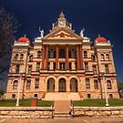 Coryell County Courthouse - Gatesville, Texas by Terence Russell