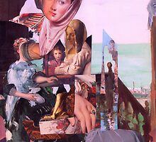 Esoteric Thought of an Extended Limb (Madonna with Christ Child 5.) by Andy Nawroski
