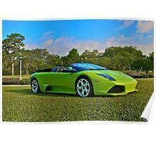 Lamborghini Murcielago Convertible Poster
