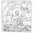 buddha drawing by artvagabond