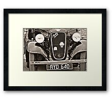 In retrospective...1--- Tipperary Vintage Rally  Framed Print