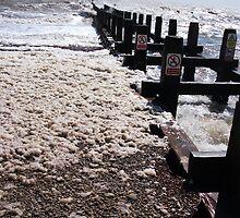 Seaform On Lowestoft Beach 2 by DCLehnsherr