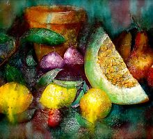 Still Life with Lemons... by ©Janis Zroback