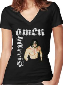 CWE Amen Women's Fitted V-Neck T-Shirt