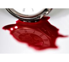 Times bloody reflection  Photographic Print