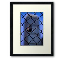 Boston Lockdown Framed Print