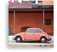 Peanut Butter Car Canvas Print