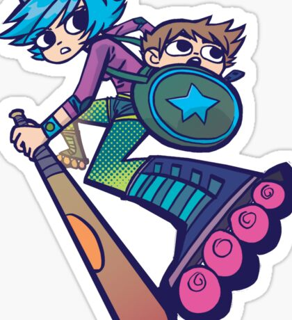 Ramona - Scott Pilgrim Sticker