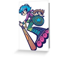 Ramona - Scott Pilgrim Greeting Card
