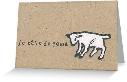 Je reve de Goma by Non-Food-Items