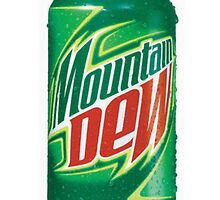 Mountain Dew Can by beastlyD