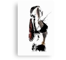 Arch - Abstract Contemporary Dancer Canvas Print