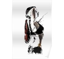 Arch - Abstract Contemporary Dancer Poster