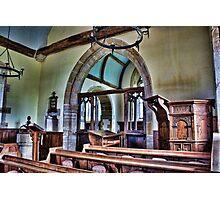 St Mary interior Penhurst Photographic Print