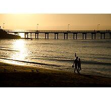 Island sunset Photographic Print