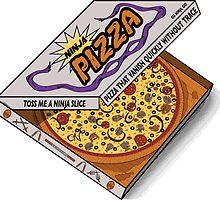 Ninja Pizza - Genius by BanzaiDesigns