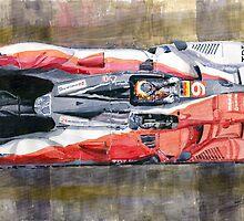 Audi R15 TDI Bernhard Dumas Rockenfeller Le Mans 24 Hours 2010 winner by Yuriy Shevchuk