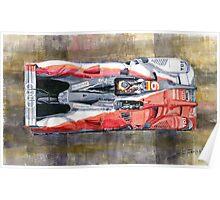 Audi R15 TDI Bernhard Dumas Rockenfeller Le Mans 24 Hours 2010 winner Poster