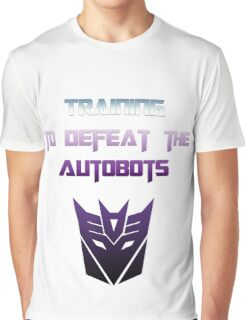 Training to Defeat the Autobots Graphic T-Shirt