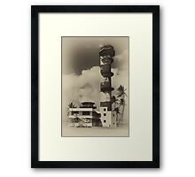 WW2 Control Tower Framed Print