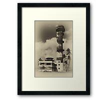 WW2 Control Tower Framed Print