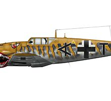 Bf-109G6 Fantasy Markings & Camouflage by Arthur Carley