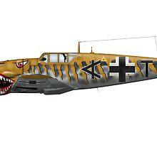 Bf-109G6 Fantasy Markings & Camouflage by Arthur Carley