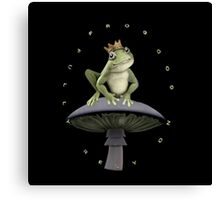 ✾◕‿◕✾FROG=FULLY RELY ON GOD>>FROG IPHONE CASE-PILLOW-JOURNAL-TOTE BAG-SCARF-ECT✾◕‿◕✾ Canvas Print