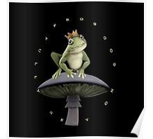 ✾◕‿◕✾FROG=FULLY RELY ON GOD>>FROG IPHONE CASE-PILLOW-JOURNAL-TOTE BAG-SCARF-ECT✾◕‿◕✾ Poster