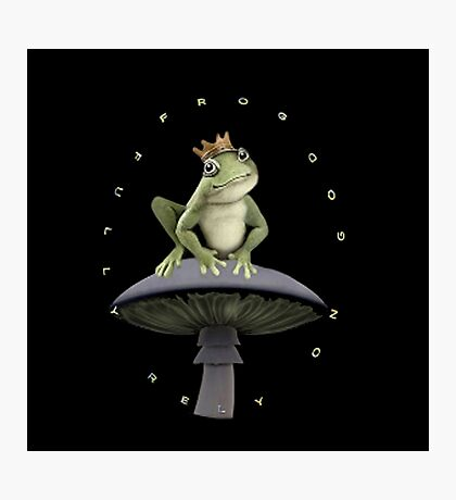 ✾◕‿◕✾FROG=FULLY RELY ON GOD>>FROG IPHONE CASE-PILLOW-JOURNAL-TOTE BAG-SCARF-ECT✾◕‿◕✾ Photographic Print