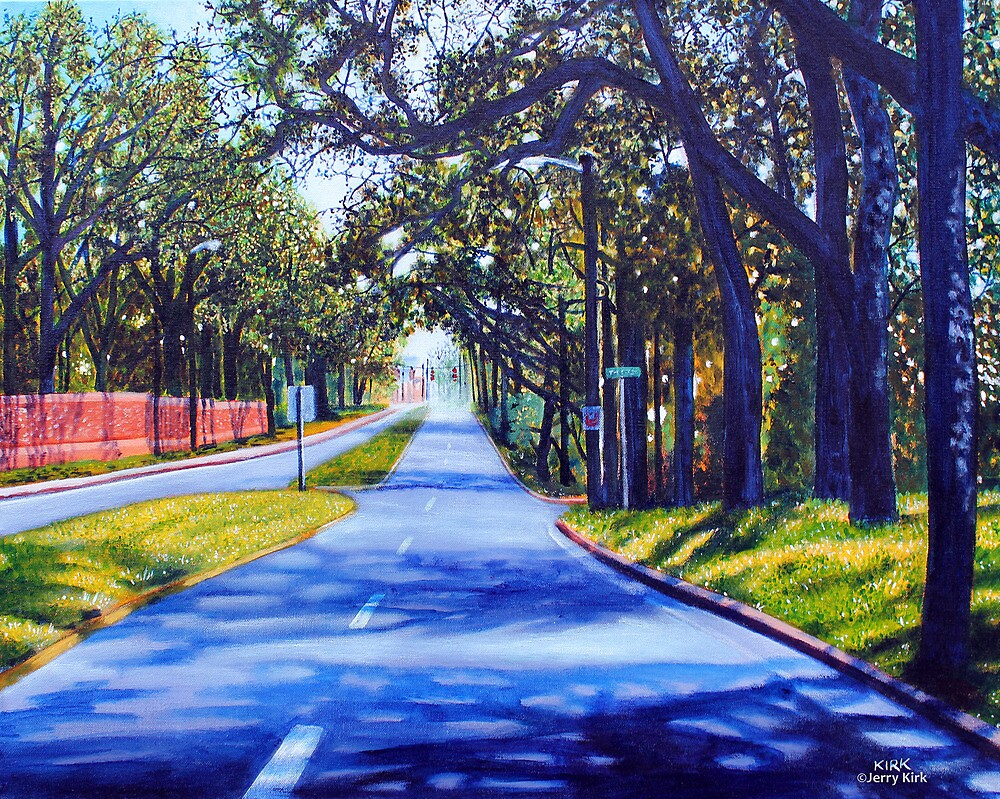 'Providence Road'  by Jerry Kirk