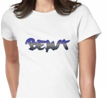 Beaut - Australian Slang Womens Fitted T-Shirt