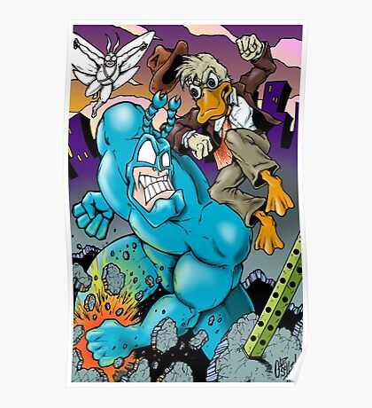 The Tick and Howard Duck Poster
