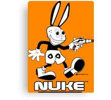 NUKE - Tweaked Canvas Print
