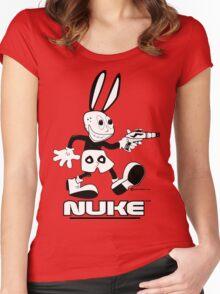NUKE - Tweaked Women's Fitted Scoop T-Shirt