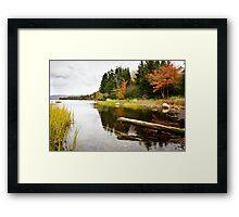Atlantic Autumn Framed Print