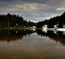 Mountain lake II by CormacEby