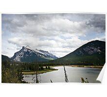 Mount Rundle Landscape Poster