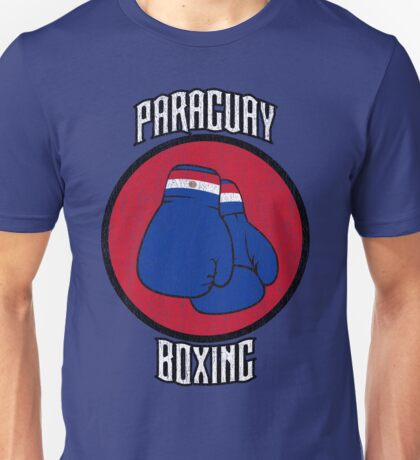 Paraguay Boxing Unisex T-Shirt