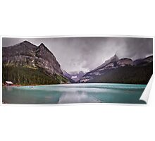 Lake Louise Panorama Poster