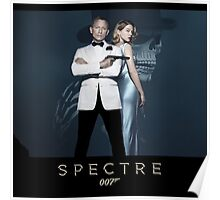007 spectre bond and girl Poster