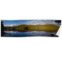 Loon Lake Panorama Poster
