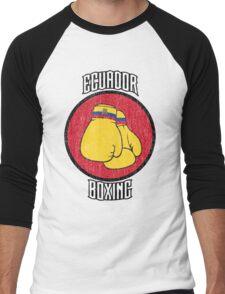Ecuador Boxing Men's Baseball ¾ T-Shirt