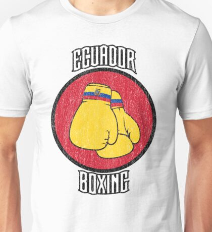 Ecuador Boxing Unisex T-Shirt