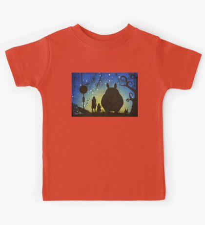 Small Spirits (Totoro) Kids Tee
